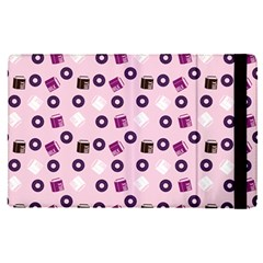 Pink Donuts Apple Ipad Pro 12 9   Flip Case by snowwhitegirl