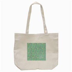 Teal Donuts And Milk Tote Bag (cream) by snowwhitegirl