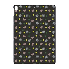 Dark Grey Milk Hearts Apple Ipad Pro 10 5   Hardshell Case by snowwhitegirl