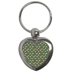 Green Milk Hearts Key Chains (heart)  by snowwhitegirl