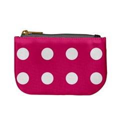 Pink Dot Mini Coin Purses