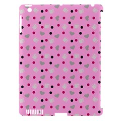 Pink Milk Hearts Apple Ipad 3/4 Hardshell Case (compatible With Smart Cover) by snowwhitegirl