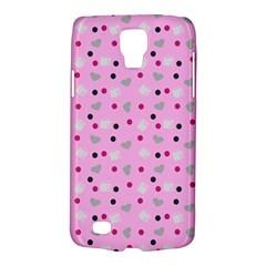 Pink Milk Hearts Galaxy S4 Active by snowwhitegirl