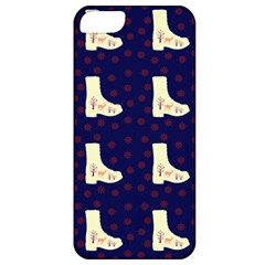 Navy Boots Apple Iphone 5 Classic Hardshell Case by snowwhitegirl
