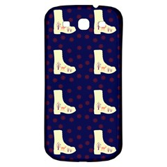 Navy Boots Samsung Galaxy S3 S Iii Classic Hardshell Back Case by snowwhitegirl