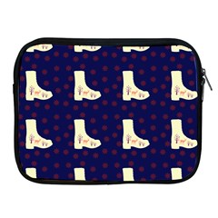 Navy Boots Apple Ipad 2/3/4 Zipper Cases by snowwhitegirl