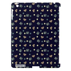 Blue Milk Hearts Apple Ipad 3/4 Hardshell Case (compatible With Smart Cover) by snowwhitegirl