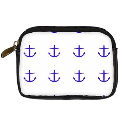 Royal Anchors On White Digital Camera Cases by snowwhitegirl