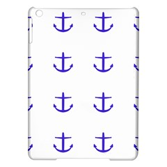Royal Anchors On White Ipad Air Hardshell Cases by snowwhitegirl