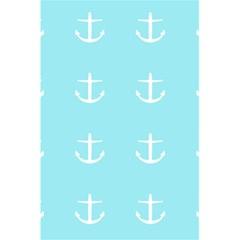 Aqua Anchor 5 5  X 8 5  Notebooks by snowwhitegirl