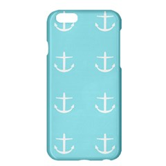 Aqua Anchor Apple Iphone 6 Plus/6s Plus Hardshell Case by snowwhitegirl