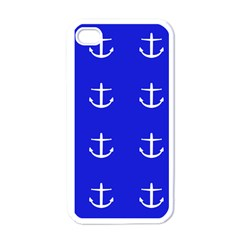 Royal Anchors Apple Iphone 4 Case (white) by snowwhitegirl