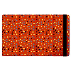 Red Retro Dots Apple Ipad Pro 9 7   Flip Case by snowwhitegirl