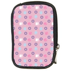 Milk And Donuts Pink Compact Camera Cases by snowwhitegirl