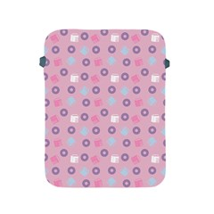 Milk And Donuts Pink Apple Ipad 2/3/4 Protective Soft Cases by snowwhitegirl