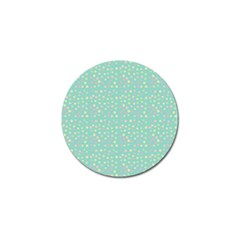 Light Teal Hearts Golf Ball Marker (4 Pack) by snowwhitegirl