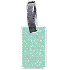 Light Teal Hearts Luggage Tags (two Sides) by snowwhitegirl