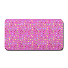 Pink Heart Drops Medium Bar Mats by snowwhitegirl