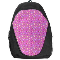 Pink Heart Drops Backpack Bag by snowwhitegirl