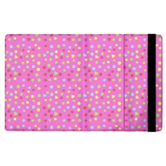 Pink Heart Drops Apple Ipad Pro 9 7   Flip Case by snowwhitegirl