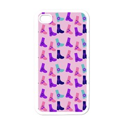 Candy Boots Apple Iphone 4 Case (white) by snowwhitegirl