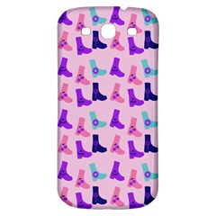 Candy Boots Samsung Galaxy S3 S Iii Classic Hardshell Back Case by snowwhitegirl