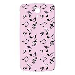 Pink Music Samsung Galaxy Mega I9200 Hardshell Back Case by snowwhitegirl