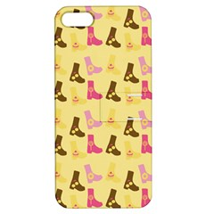 Beige Boots Apple Iphone 5 Hardshell Case With Stand by snowwhitegirl