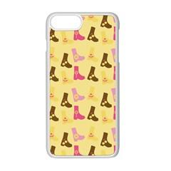Beige Boots Apple Iphone 8 Plus Seamless Case (white) by snowwhitegirl