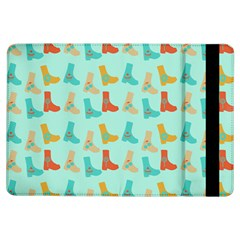 Blue Orange Boots Ipad Air Flip by snowwhitegirl