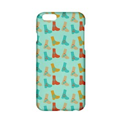 Blue Orange Boots Apple Iphone 6/6s Hardshell Case by snowwhitegirl