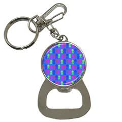 Neon Robot Button Necklaces by snowwhitegirl
