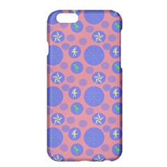 Pink Retro Dots Apple Iphone 6 Plus/6s Plus Hardshell Case by snowwhitegirl