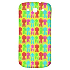 Colorful Robots Samsung Galaxy S3 S Iii Classic Hardshell Back Case by snowwhitegirl