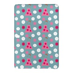 Pink Dress Blue Samsung Galaxy Tab Pro 10 1 Hardshell Case by snowwhitegirl