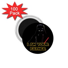 Darth Vader Cat 1 75  Magnets (100 Pack)  by Valentinaart