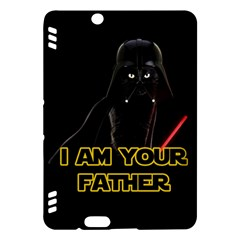 Darth Vader Cat Kindle Fire Hdx Hardshell Case by Valentinaart
