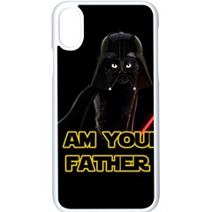 Darth Vader Cat Apple Iphone X Seamless Case (white)