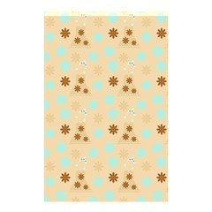 Beige Dress Shower Curtain 48  X 72  (small)  by snowwhitegirl