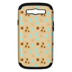 Beige Dress Samsung Galaxy S Iii Hardshell Case (pc+silicone) by snowwhitegirl