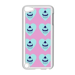Cupcakes In Pink Apple Ipod Touch 5 Case (white) by snowwhitegirl