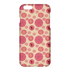 Cream Retro Dots Apple Iphone 6 Plus/6s Plus Hardshell Case by snowwhitegirl
