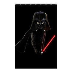 Darth Vader Cat Shower Curtain 48  X 72  (small)  by Valentinaart
