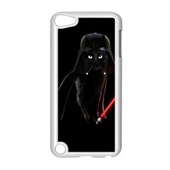 Darth Vader Cat Apple Ipod Touch 5 Case (white) by Valentinaart