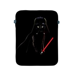 Darth Vader Cat Apple Ipad 2/3/4 Protective Soft Cases by Valentinaart