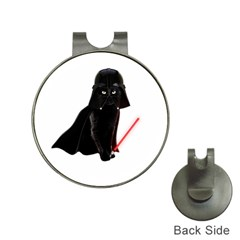 Darth Vader Cat Hat Clips With Golf Markers by Valentinaart