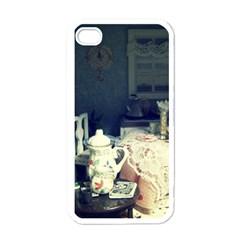 Abandonded Dollhouse Apple Iphone 4 Case (white) by snowwhitegirl