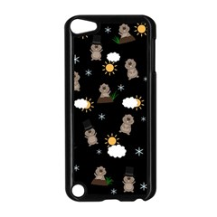 Groundhog Day Pattern Apple Ipod Touch 5 Case (black) by Valentinaart