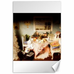 Dollhouse Christmas Canvas 24  X 36  by snowwhitegirl