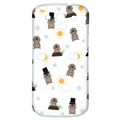 Groundhog Day Pattern Samsung Galaxy S3 S Iii Classic Hardshell Back Case by Valentinaart